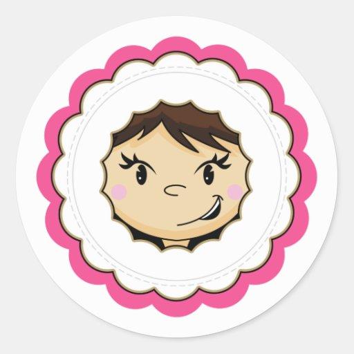 Eskimo Face Sticker