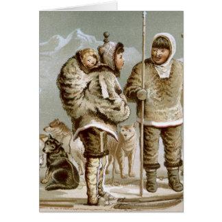 Eskimo Family Card