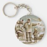 Eskimo Family Key Chains