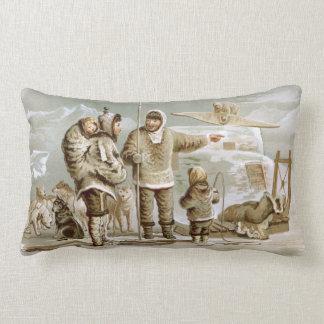 Eskimo Family Lumbar Pillow