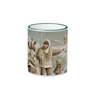 Eskimo Family Ringer Mug