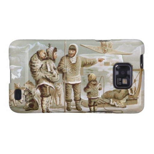 Eskimo Family Samsung Galaxy S2 Cases