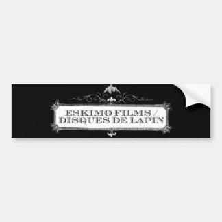 Eskimo Films/Disques de Lapin Dual Logo sticker