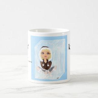 Eskimo in Ice Quantum Cutie Ice, Melts Coffee Mug