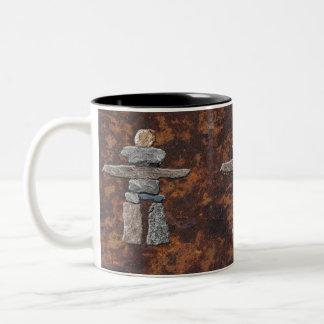 Eskimo, Inuit Inukshuk Drinking Mug