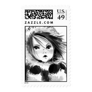 Eskimo/Inuit (med) Postage Stamp