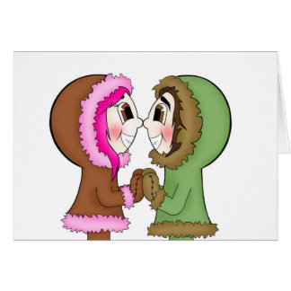 eskimo kisses card