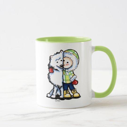 Eskimo Kisses Winter Mug