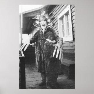 Eskimo Medicine Man: 1900 Print