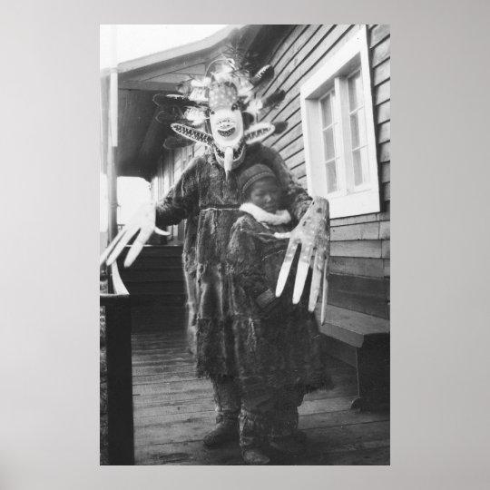 Eskimo Medicine Man: 1900 Poster