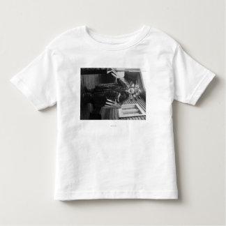 Eskimo Medicine Man and Sick Boy in Alaska Toddler T-shirt