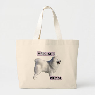 Eskimo Mom 4 Large Tote Bag