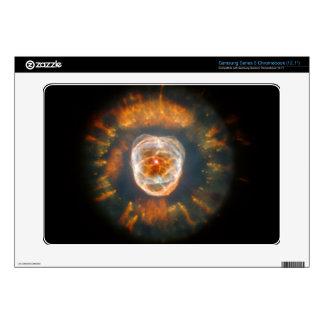 Eskimo Nebula Hubble Space Samsung Chromebook Decals