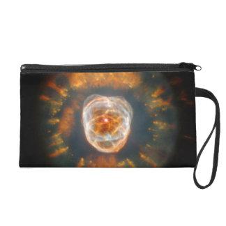 Eskimo Nebula (Hubble Telescope) Wristlet Purses