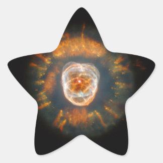 Eskimo Nebula (Hubble Telescope) Star Sticker