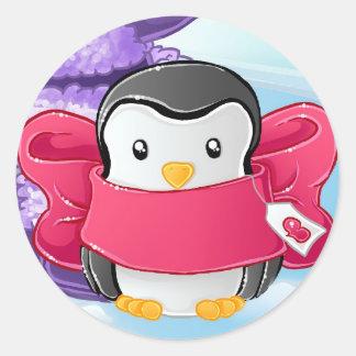 Eskimo Penguin gift Stickers