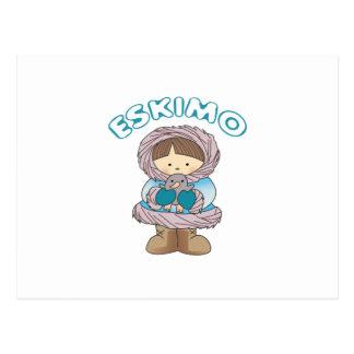 Eskimo Postcard