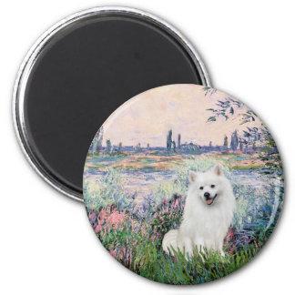Eskimo Spitz 1 - By the Seine Magnet
