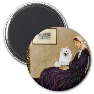 Eskimo Spitz 1 - Whistlers Mother Magnet