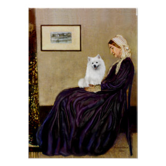 Eskimo Spitz 1 - Whistlers Mother Posters