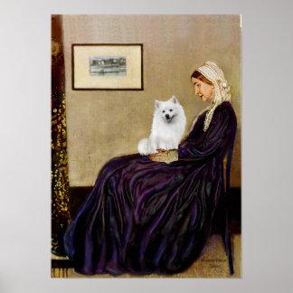 Eskimo Spitz 1 - Whistlers Mother Poster