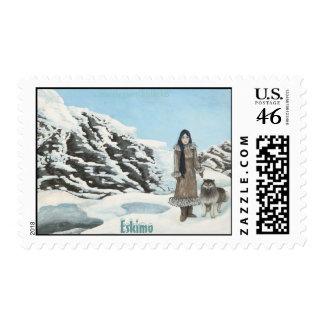 Eskimo Stamp