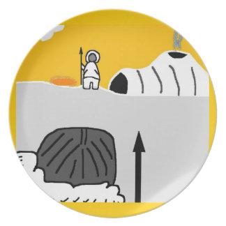 eskimo sunset plate