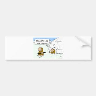 eskimo vitamin C Bumper Sticker