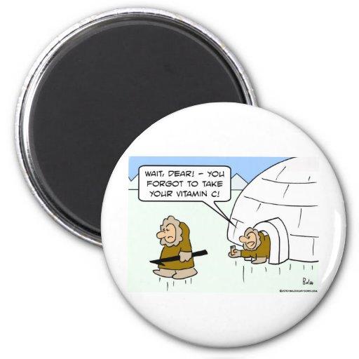eskimo vitamin C Magnet