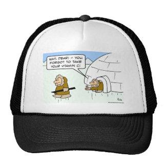 eskimo vitamin C Trucker Hat