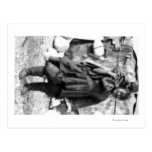 Eskimo Woman and Child In Alaska Photograph Postcard