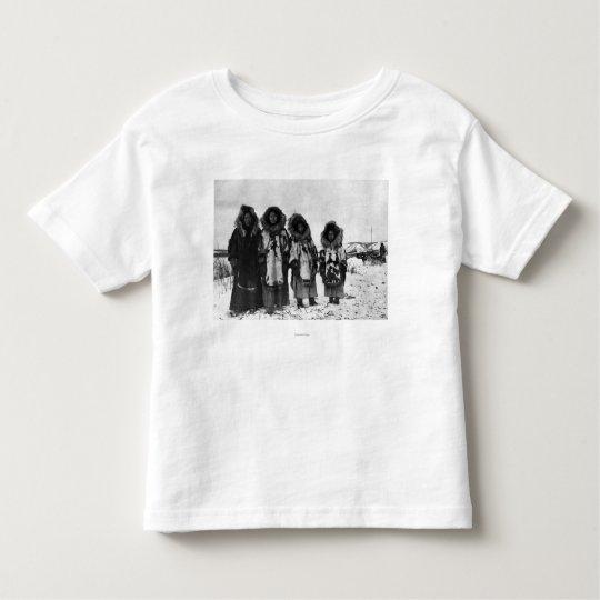 Eskimo Women In Alaska Photograph Toddler T-shirt