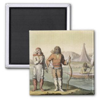 Eskimos at Hudson Bay, from 'Le Costume Ancien et Magnet