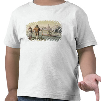 Eskimos at Hudson Bay, from 'Le Costume Ancien et T-shirts