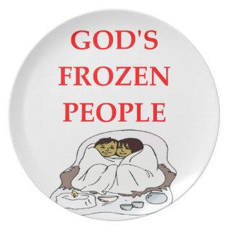 eskimos melamine plate