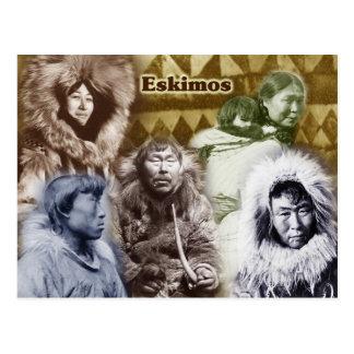 Eskimos of Alaska (1904 -1930) Postcard