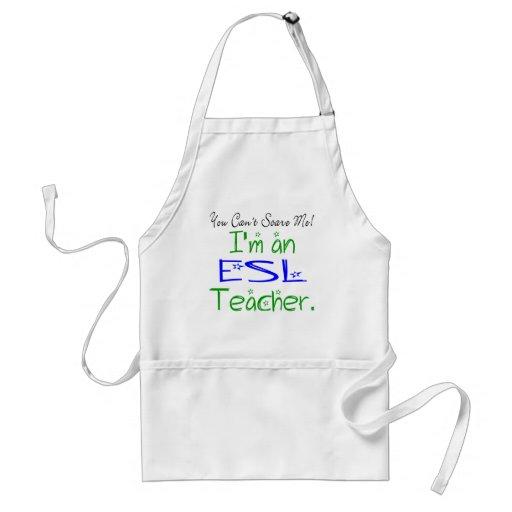 ESL Teacher Apron