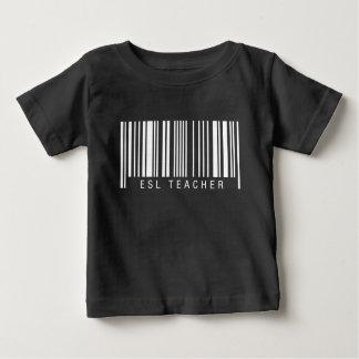 ESL Teacher Barcode Baby T-Shirt