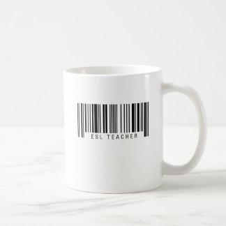 ESL Teacher Barcode Coffee Mug