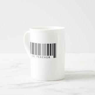 ESL Teacher Barcode Tea Cup