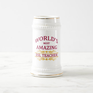 ESL Teacher Beer Stein