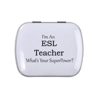 ESL Teacher Jelly Belly Tin