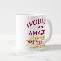 ESL Teacher Large Coffee Mug