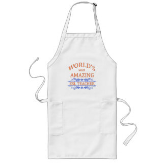 ESL Teacher Long Apron
