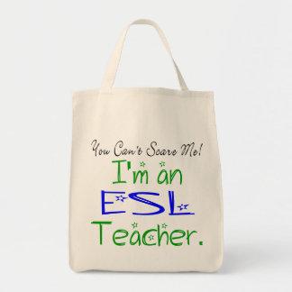 ESL Teacher Tote Canvas Bag