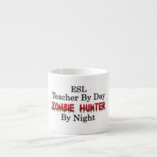 ESL Teacher/Zombie Hunter Espresso Cup