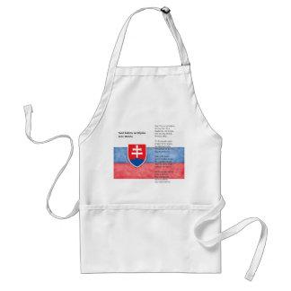 Eslovaquia Delantal
