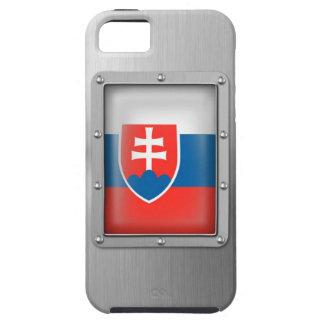 Eslovaquia en acero inoxidable funda para iPhone SE/5/5s