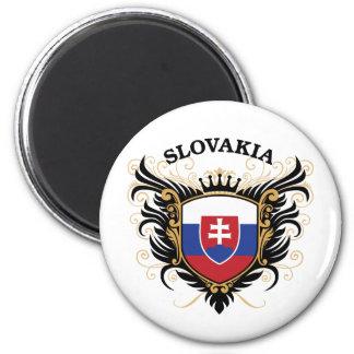 Eslovaquia Imán Redondo 5 Cm