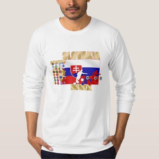 Eslovaquia MMX 32 regalos de calificación de los Camisas